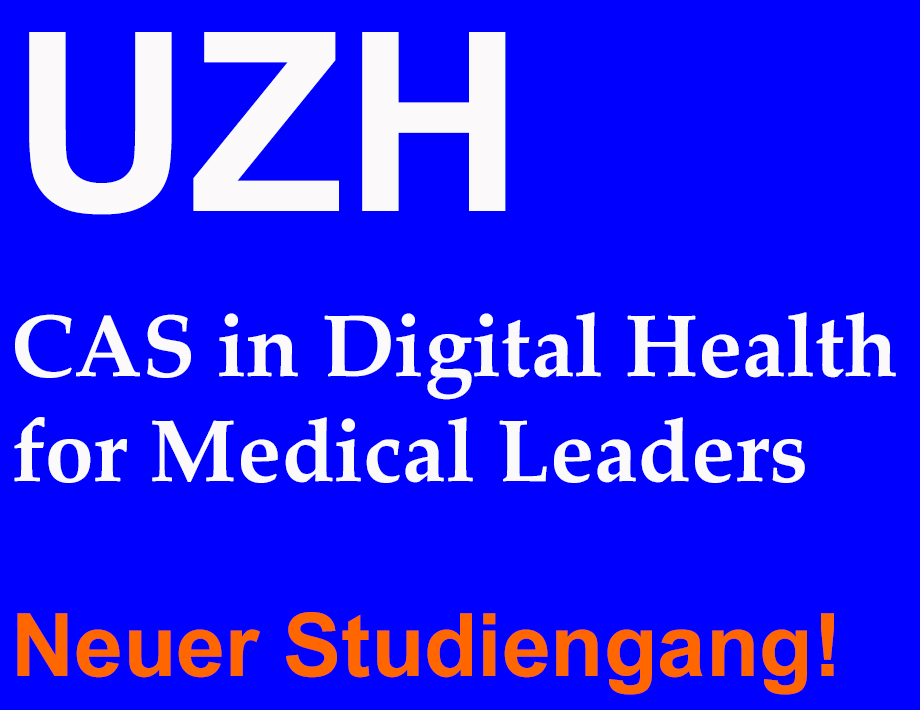 CAS in Digital Health for Medical Leaders